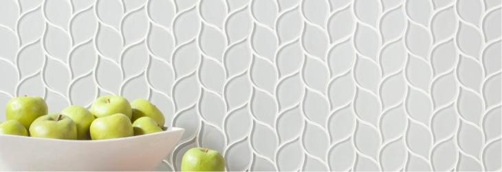 decorative glass tile floor decor