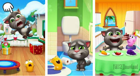 my talking tom 2 hacked apk download