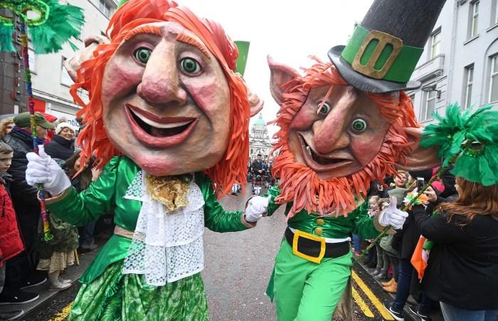 「St.Patrick's Day England パレード」の画像検索結果