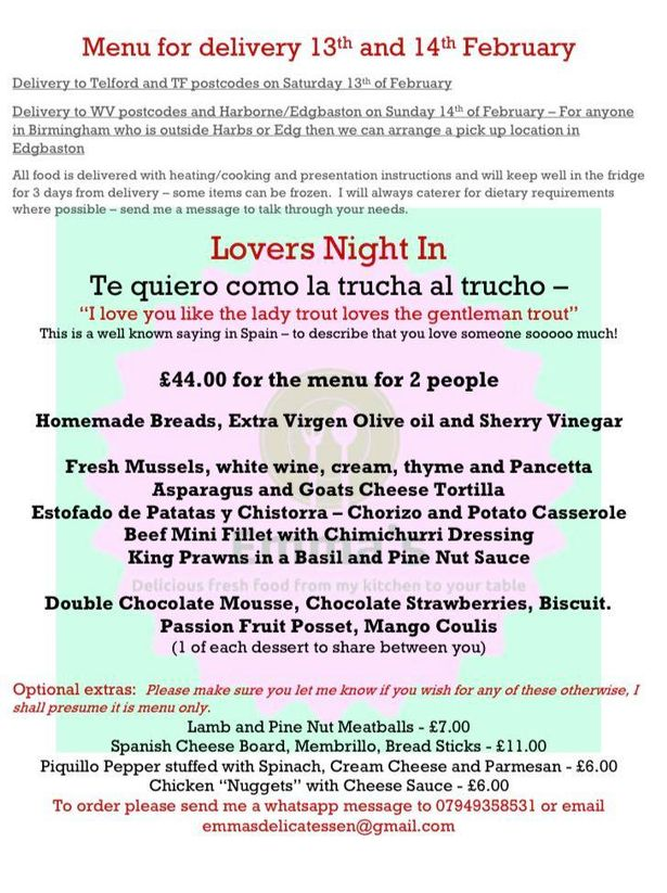 The Spanish Lovers Night In