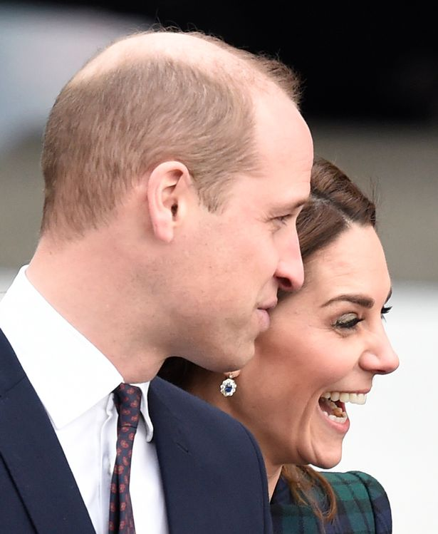 The Duke and Duchess of Cambridge arrive at V&A Dundee, Scotland's first design museum