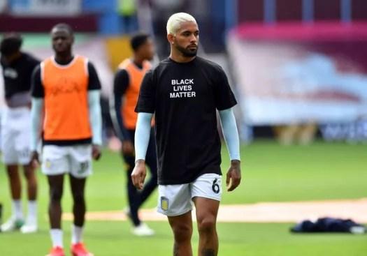 Explained: Douglas Luiz not training at Aston Villa after ...