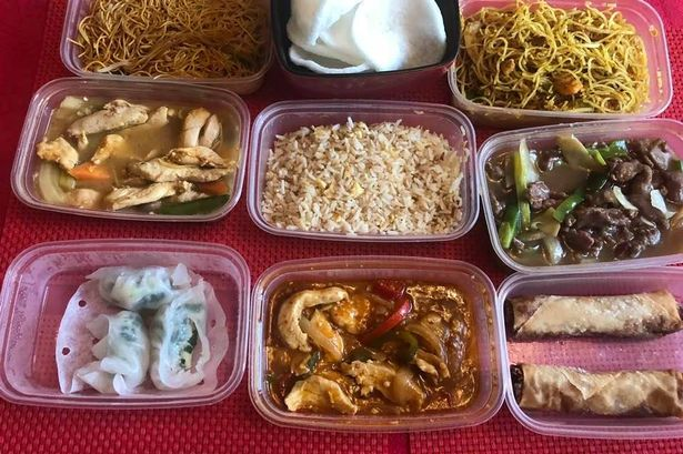 Chinese feast from Chung Ying Cantonese