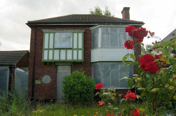 July 10, 2011: One of the family homes at 324 Pershore Road waiting for demolition - a decade later 375 'build to rent' apartments are being built and will include an 18-storey block