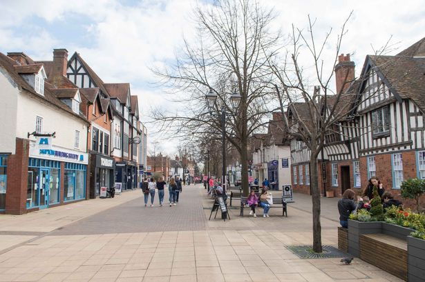 A picture of Solihull Town Centre