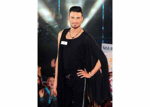 Rylan Clark arrives to cheers from the crowd as Celebrity Big Brother 2013 begins