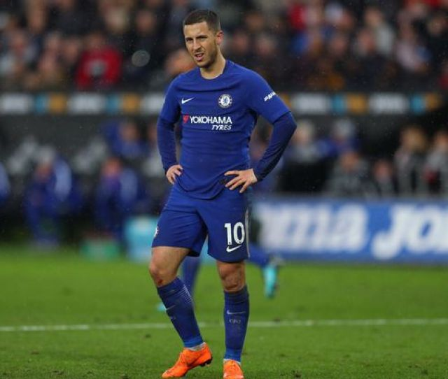 Eden Hazard Cuts A Frustrated Figure In South Wales Image Getty Images Europe