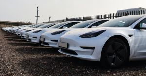 Leasing house Exeter sees a huge demand for Tesla Elon Musk electric cars