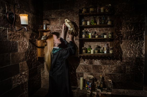 The escape room harry potter style