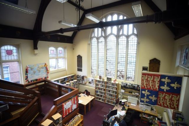 Image result for Inside the king's school peterborough