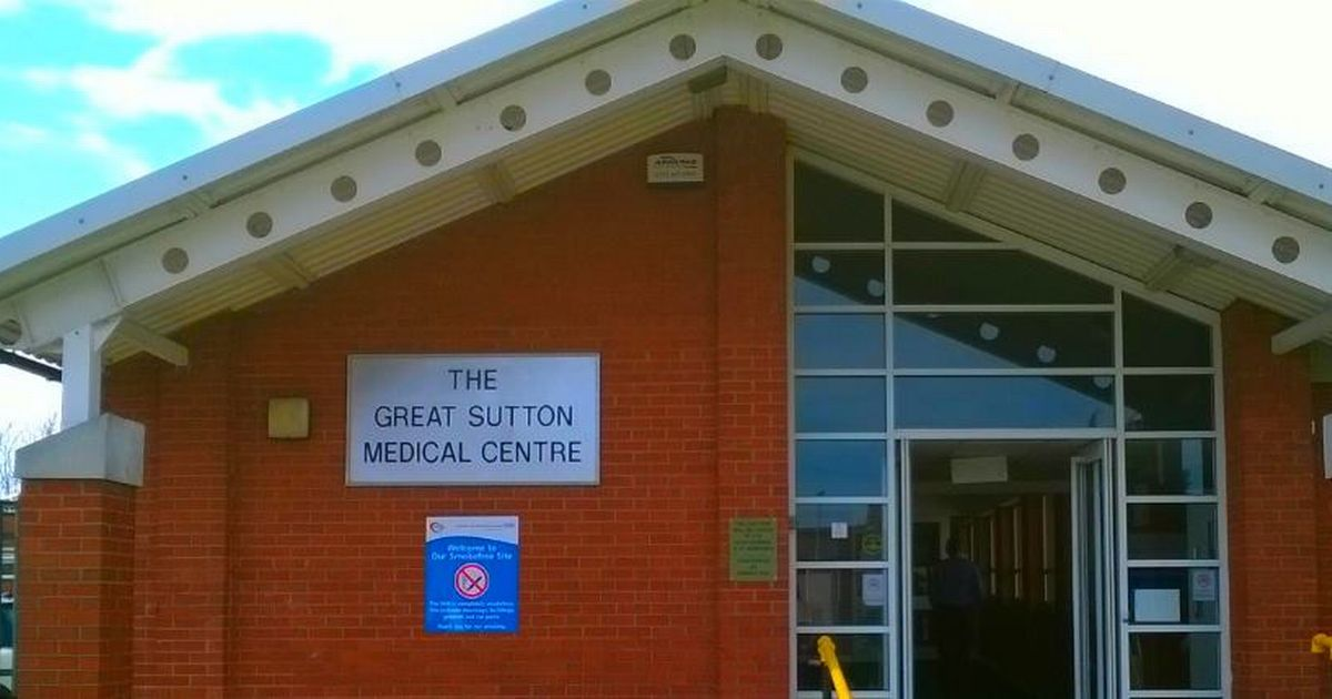Ellesmere Port GP surgery is closed to patients on suspicion of coronavirus