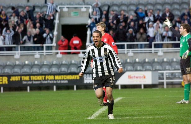 Kuno Becker starred in the feature film Goal! at Newcastle United, 2005