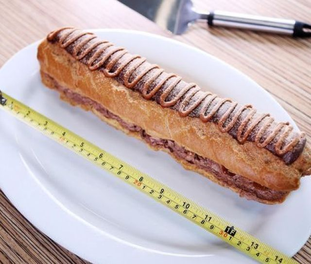 Asdas Foot Long Chocolate Eclair