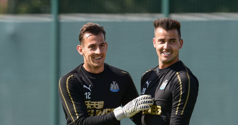 Martin Dubravka admits he felt sorry for Karl Darlow after his first team  chances were dented - Chronicle Live