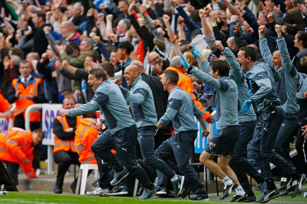 In pictures: Newcastle United fans' celebrations and relief at Premier  League safety - Chronicle Live