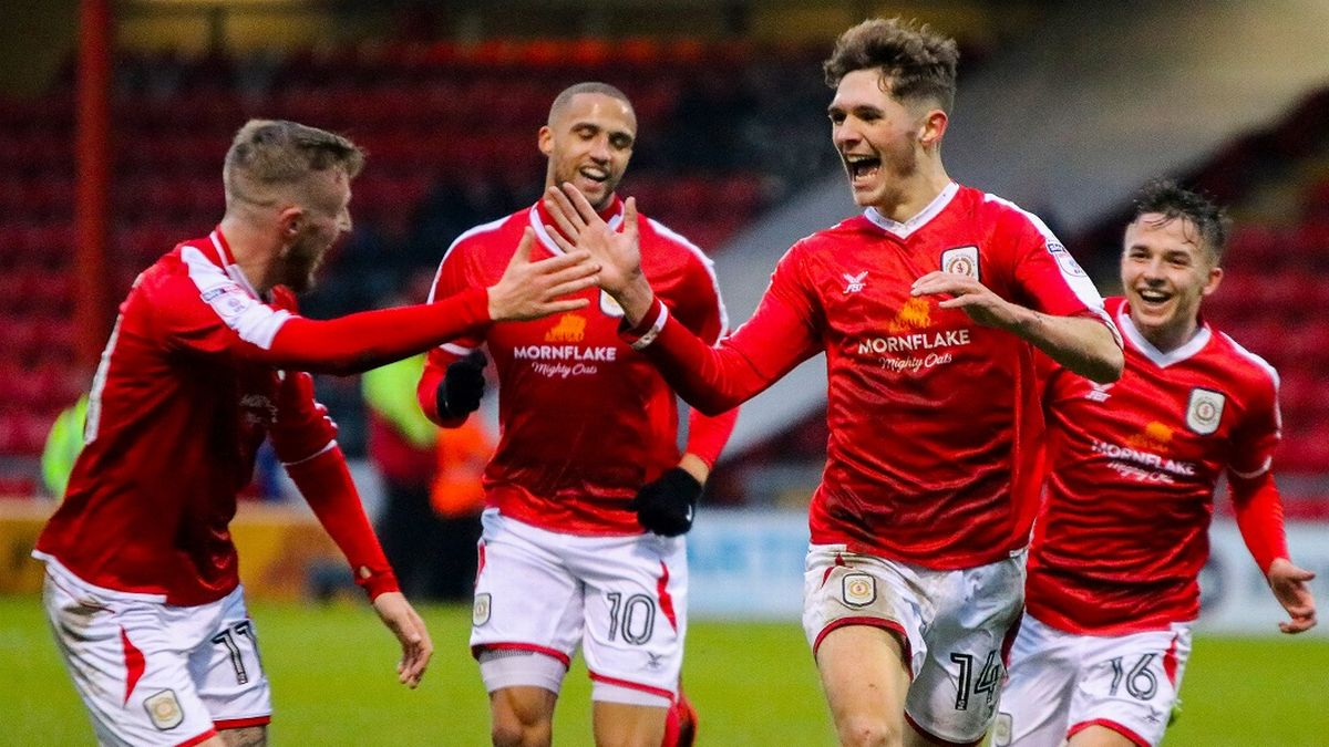 """Crewe Alex's Callum Ainley: """"I've not been as good as I wanted - there's  more to come' - Crewe Chronicle"""