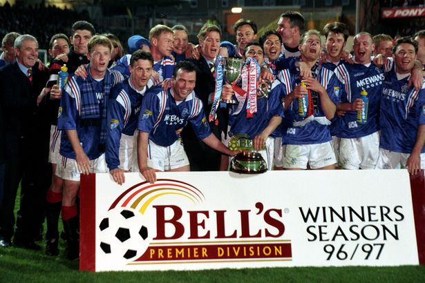 Rangers Nine in a Row legends: We look back at the games which sealed each  title - Daily Record