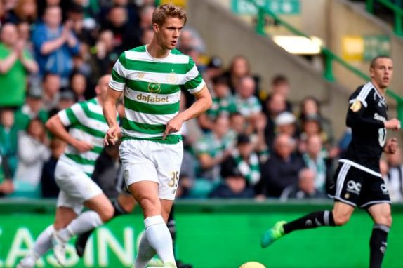 Celtic youngster Kristoffer Ajer