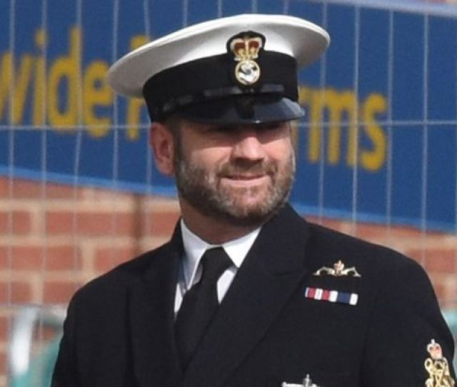 Christian Ramsey Got So Drunk On Free Alcohol At A Royal Navy Lunch He Couldnt Carry Out Duties At The Edinburgh Tattoo Image Solent News Photo Agency