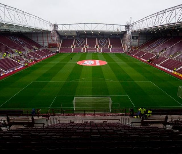 A General View Of Tynecastle Image Sns Group