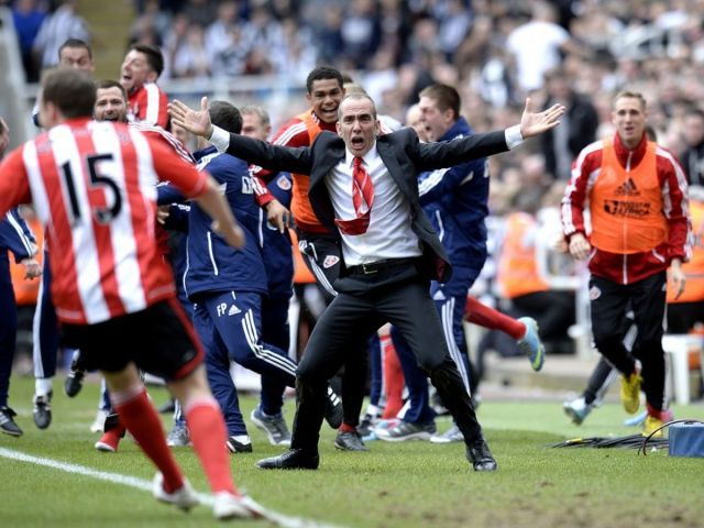 Newcastle Utd 0 Sunderland 3 Perfect derby debut for Paolo Di Canio - Daily Record