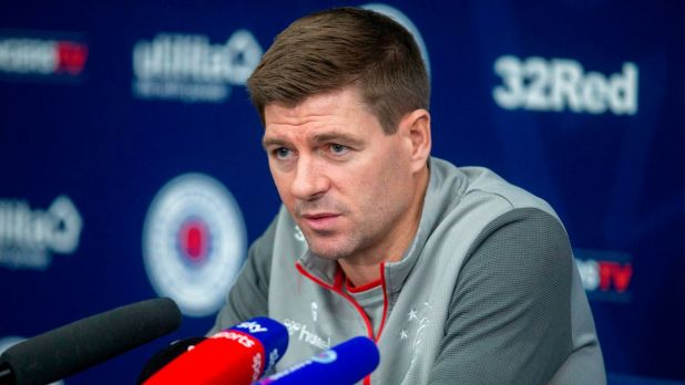 Watch Steven Gerrard's Rangers press conference in full as he shuts down pressure probe - Daily Record