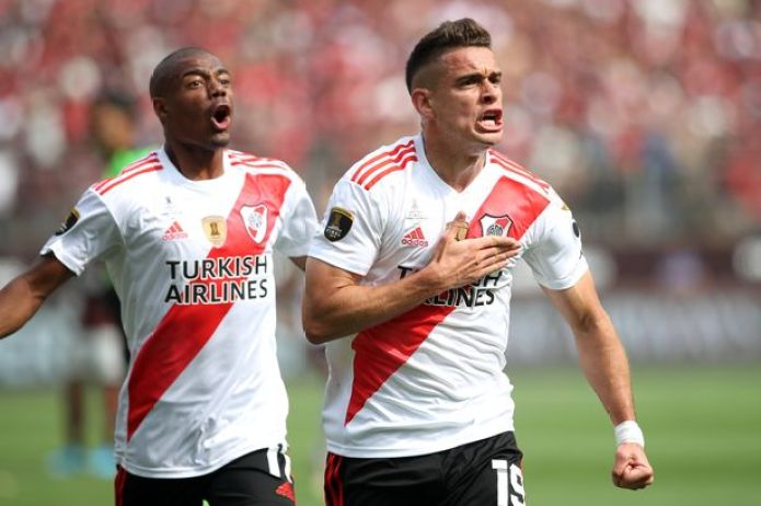 Rafael Santos Borre of River Plate