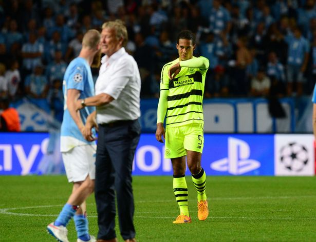 Malmö celebrates Champions League win over Celtic