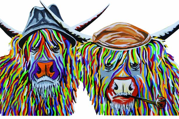 Local McCoo Artist Teams Up With Ayrshire Hospice