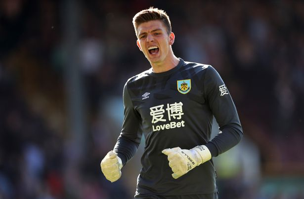 Nick Pope of Burnley has made his name as a Premier League regular in the last two seasons