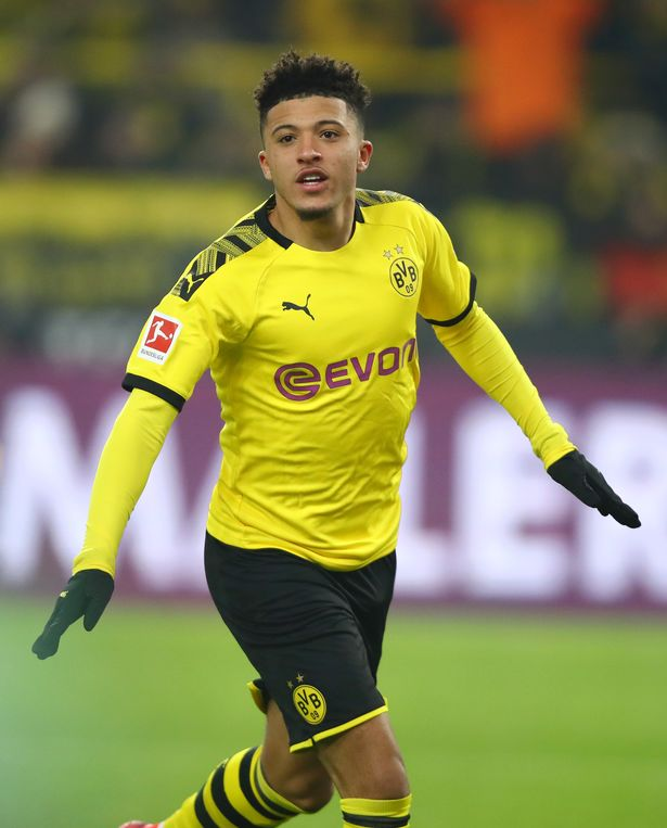Jadon Sancho of Borussia Dortmund could be on his way to Stamford Bridge this summer