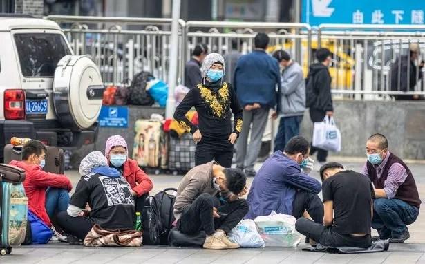 Uyghur Muslims, China