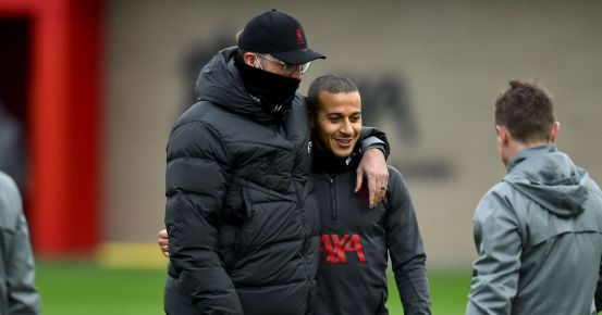 Liverpool suffered a triple heightened injury as the injured trio returned to full first team training