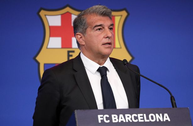 Barcelona president Joan Laporta is facing up to having to make £441million worth of cuts