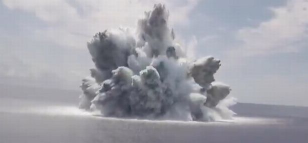 The mammoth explosion