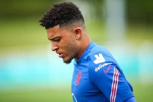 Jadon Sancho has struggled for game time at Euro 2020