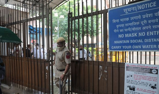 The shooting took place at Rohini Court