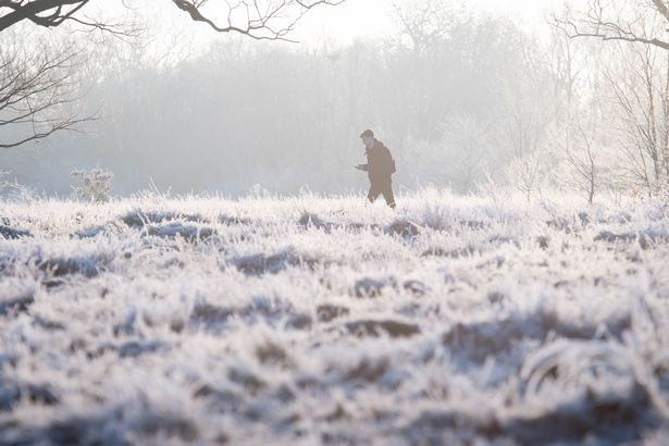 """Ben Rich from BBC Weather said in a full forecast that Friday is """"likely to begin with a touch of frost"""" for the north"""