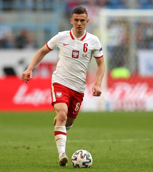 Kacper Kozlowski has been linked with a move to Anfield
