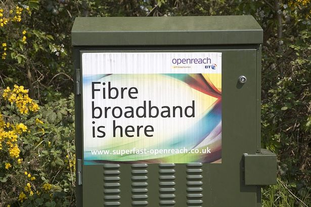 BT Openreach Fibre broadband