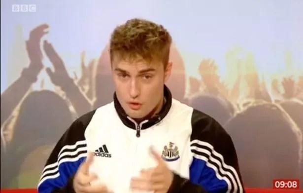 Charlie Stayt tells off Sam Fender on BBC Breakfast as he swears live on-air