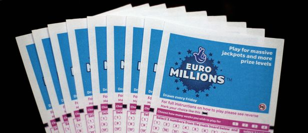 Lottery tickets for the EuroMillions jackpot