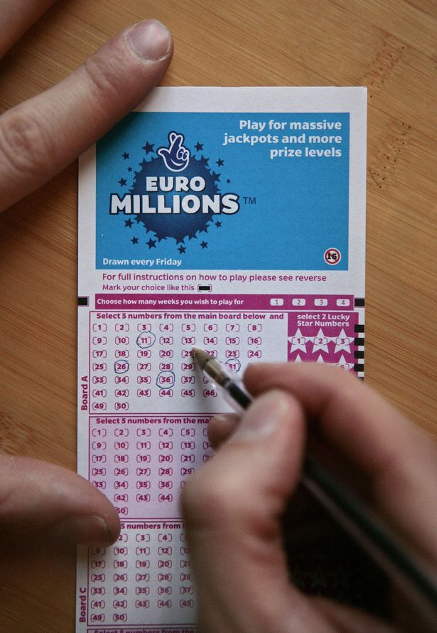The UK's biggest ever EuroMillions jackpot of £184 million is up for grabs