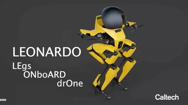 LEO can slackline, skateboard, and fly