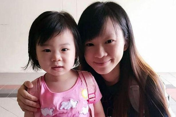 Pregnant mum Choong and daughter Zi Ning, 4, were both strangled to death by sick Teo