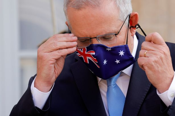 Meeting dodger: some have interpreted the comments on an attack on Aussie PM Scott Morrison