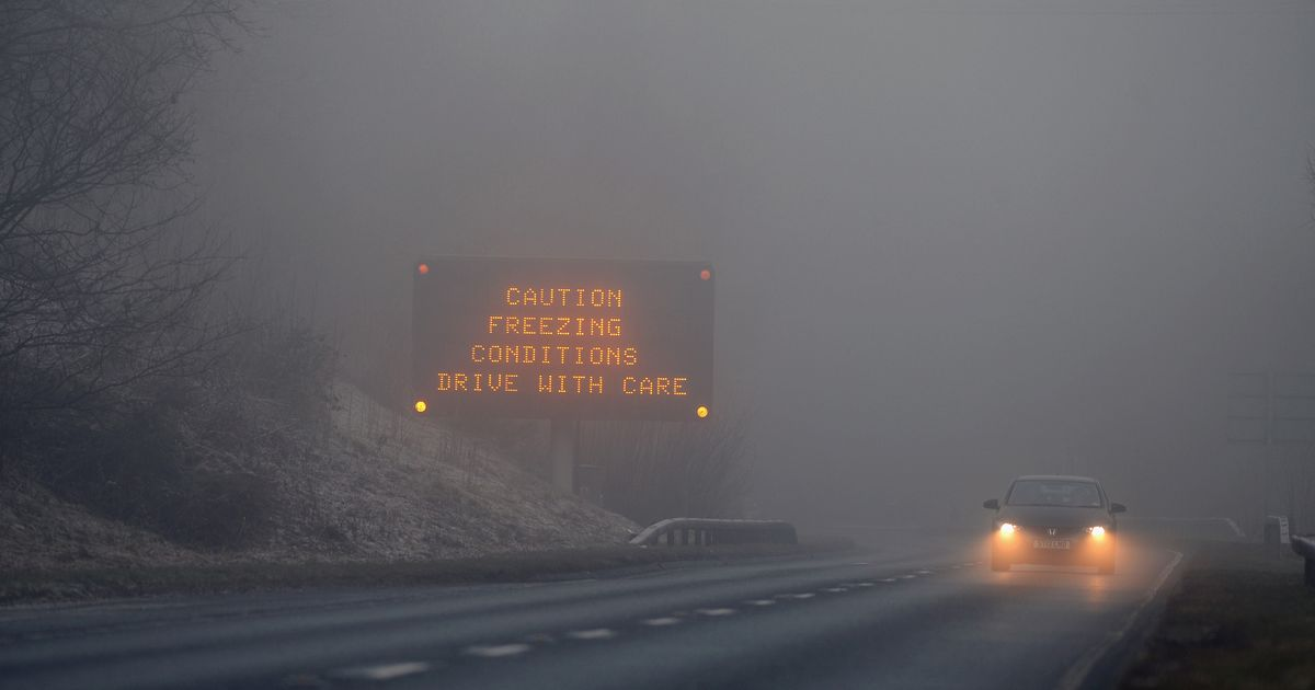 Devon and Cornwall freeze again tonight after the ice wreaks havoc on the roads