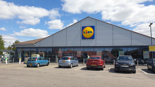 The Lidl in Pitsea