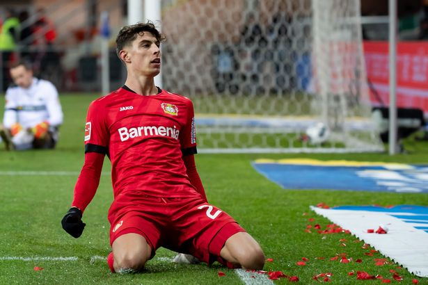 Kai Havertz is one of the hottest properties in European football at the minute
