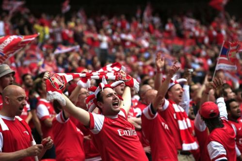 Image result for Arsenal supporters